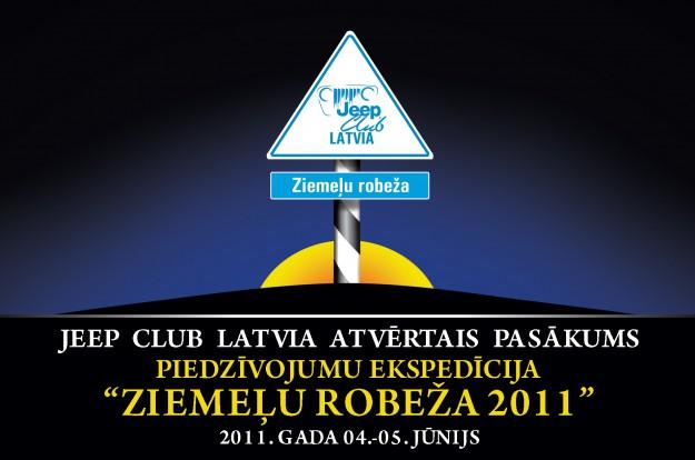 Jeepclub.lv atvērtais pasākums gar Latvijas-Igaunijas robežu.