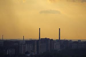 Negaiss virs Ņižnij Novgorod