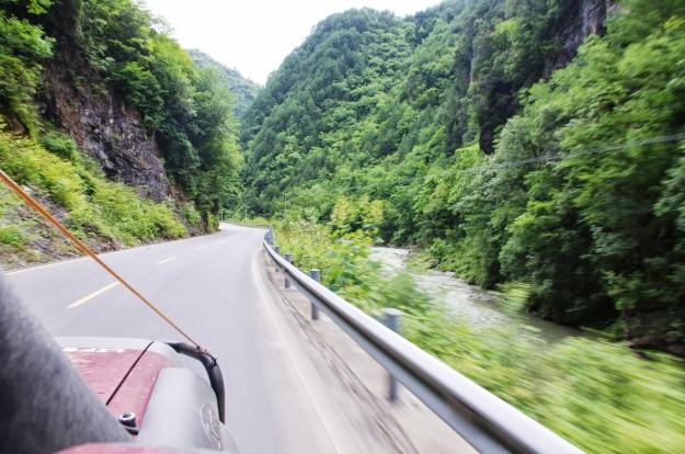 Yuan un Xian pilsētas, Terakotas armija, Wudang Shan kalns, Ķīnas mazie ceļi un tveice.