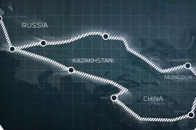 Filma 10 sērijās par 2013. gada ekspedīciju uz Āziju.